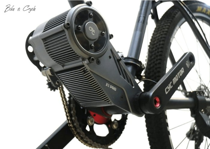 "how to make an electric bike ""middrive conversion kit on a cycle"""