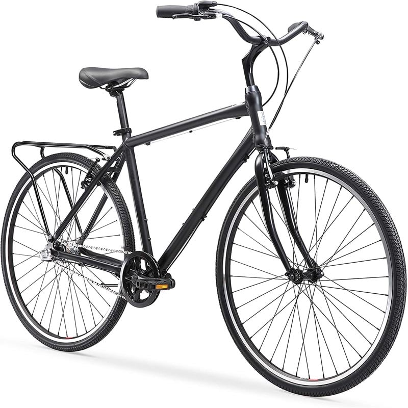 "Best Hybrid Bikes Under 500 ""Sixthreezero Explore Your Range Men's Hybrid Commuter Bicycle"""