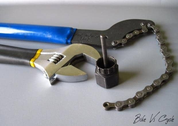 """Cassette wrench""  How to Remove Bike Cassette"