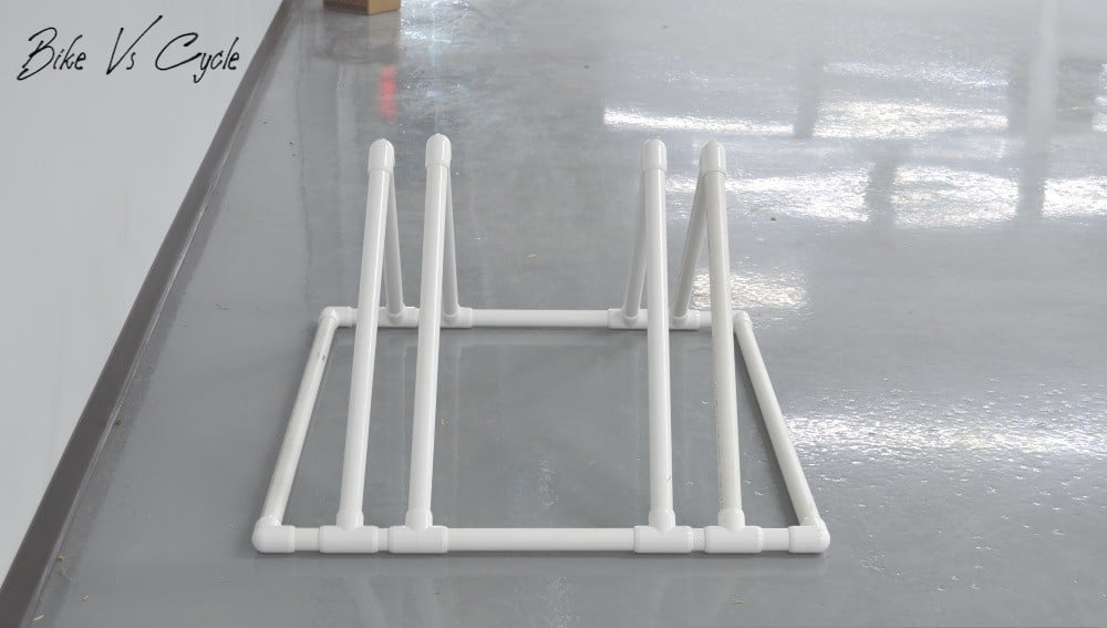 """PVC Bike Stand""How to make a Bike Stand"