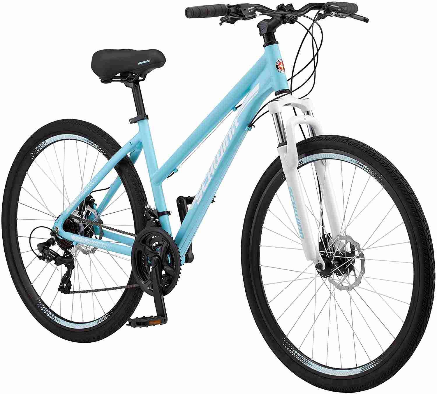 """Schwinn GTX Comfort Hybrid Bike""Best Hybrid Bikes for Women"