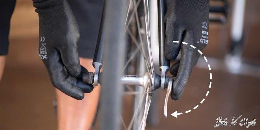 """Taking out the Wheels""How To Change A Bike Tube"