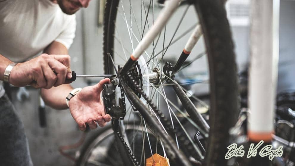 "Adjusting the wheels""How To Build A Bike From Scratch: The Guide To DIY"
