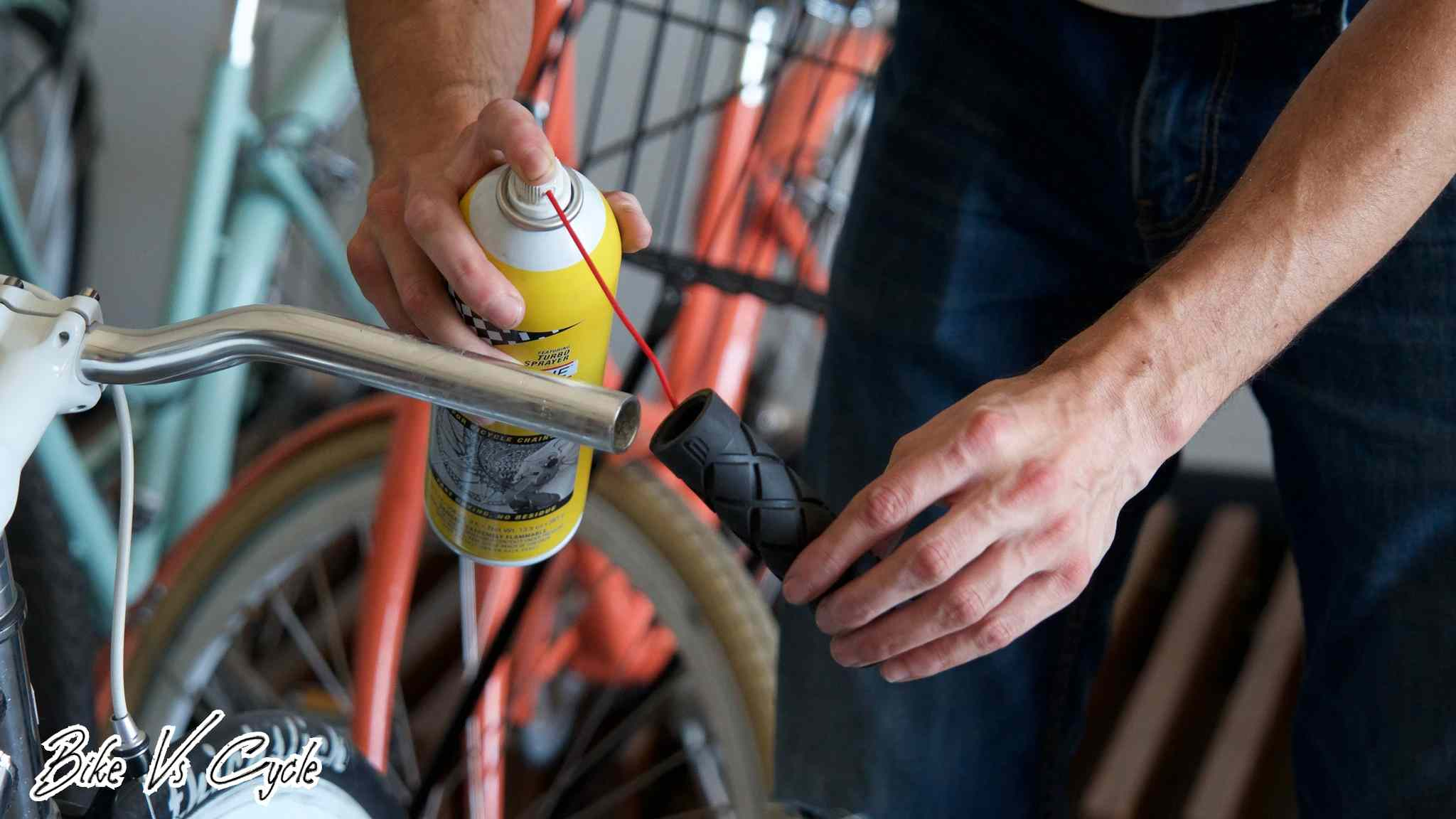 How to remove bike grips