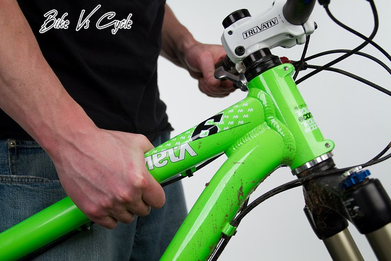 How tight should a bike headset be