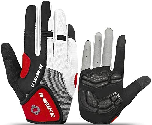 INBIKE 5mm Gel Padded Touch Screen Cycling Glove
