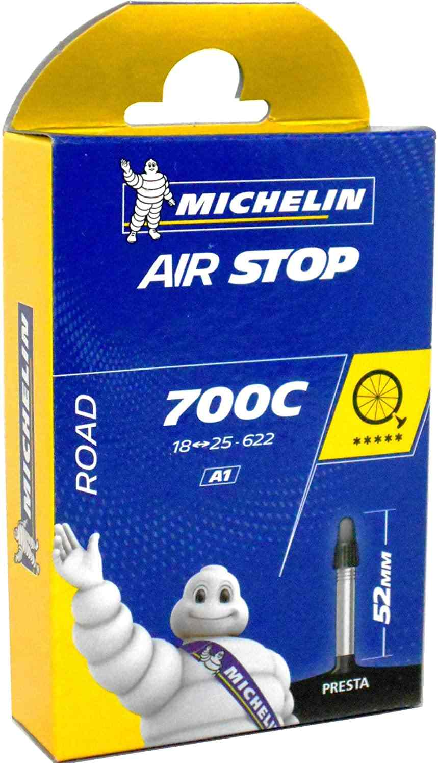 """Best Road Bike Tubes""Michelin A1 Airstop Road Presta Valve Inner Tube"