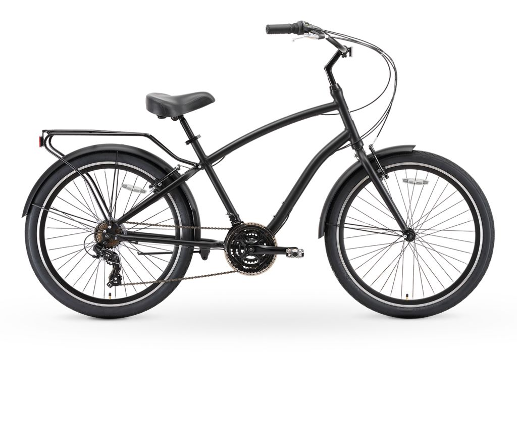 Sixthreezero EVRYjourney Single-Speed Hybrid Cruiser Bike